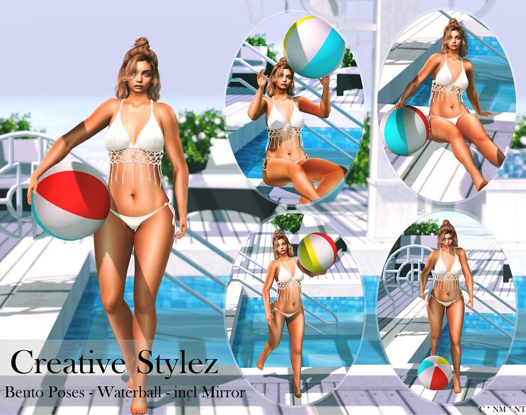 Creative Stylez – Bento Poses – Waterball –