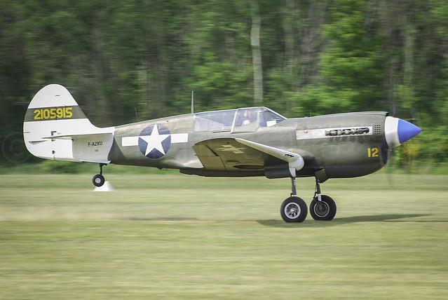 2010 • La Ferté-Alais | Curtiss P-40N Kittyhawk F-AZKU | #AWP-CHR