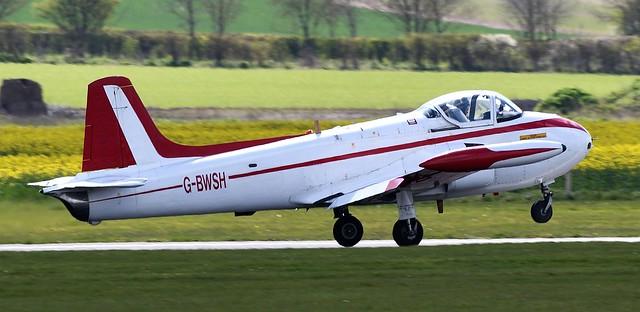 P84 Jet Provost TC3A G-BWSH ex RAFXN498