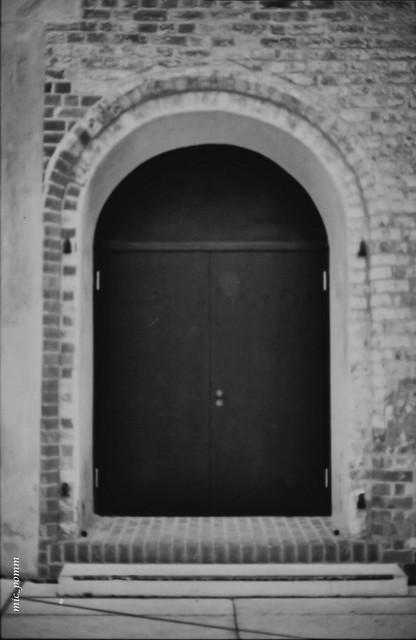 only a door