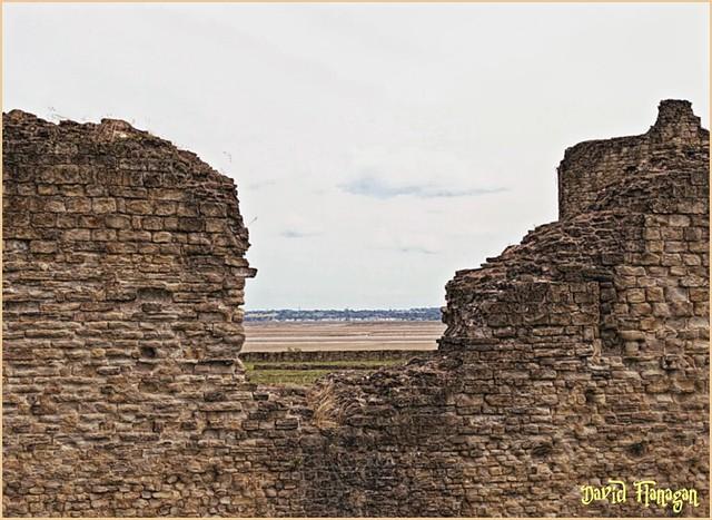 Flint Castle. North Wales.