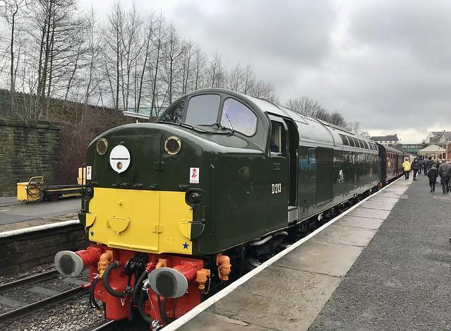 D213 Andania at Bury