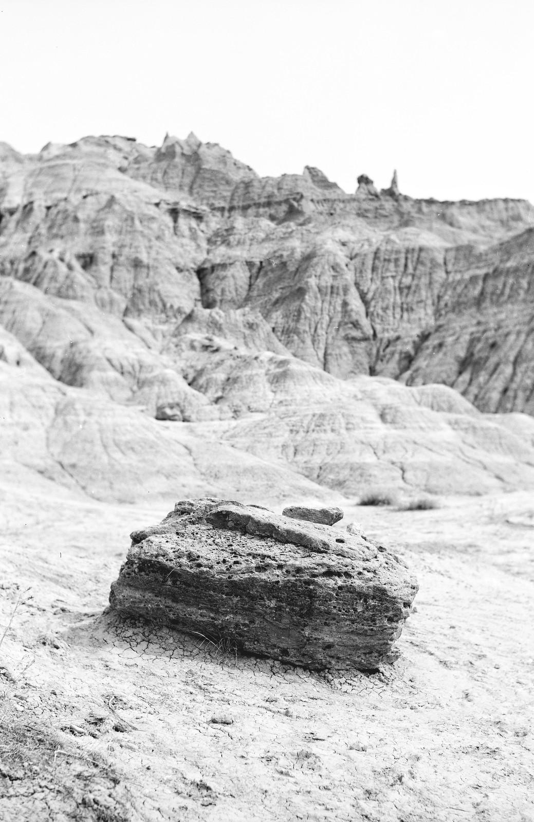 Badlands National Park - Horseman 985 / Kodak Tmax 100