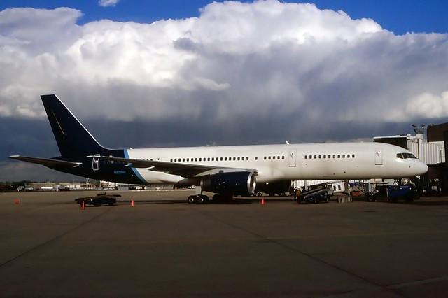 N522NA ex -TransMeridian 757-236 in KCLE
