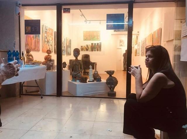 הגלריה התערוכה של איילת בוקר היוצרת האמנית הציירת הישראלית העכשווית המודרנית יוצרות אמניות ציירות ישראליות עכשוויות מודרניות