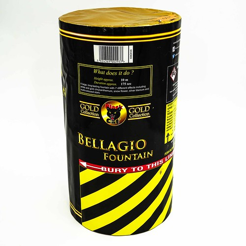 Bellagio Fountain by Black Cat Fireworks