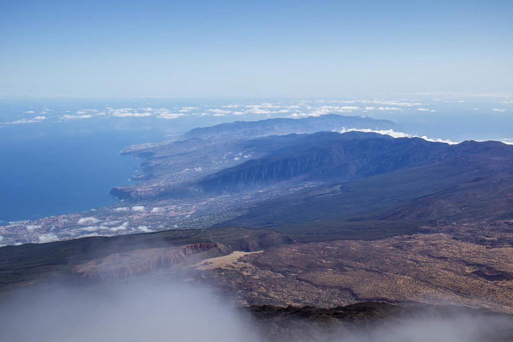 Vistas desde el Pico del Teide