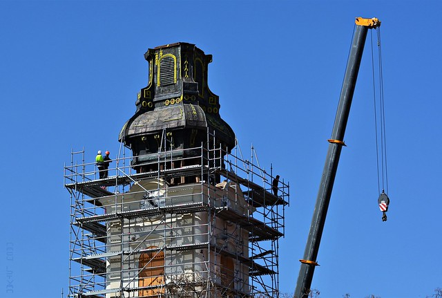 Reconstruction of the Tower of Reformed Church in Túrkeve #6