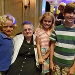 The Kids And Sister Frances Rose