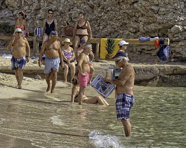 Beach Read in Mallorca