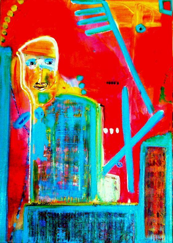 הציירת הישראלית שרה זלוטי ציירת מופשטים עכשווית יוצרת אבסטרקטית מודרנית ציור מופשט אמנית אבסטרקט