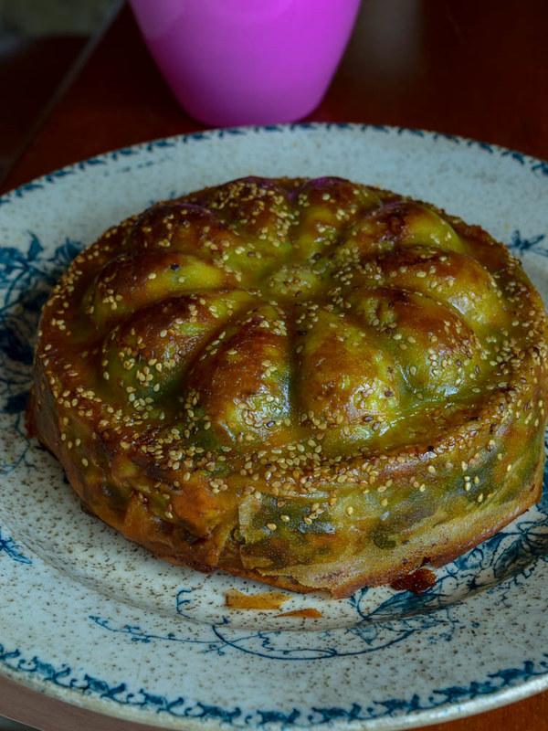 Tourte pâte filo aux épinards et féta (Spanakopita grecque)
