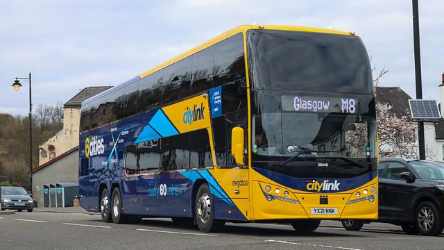 50448 YX21NNK Stagecoach Perth