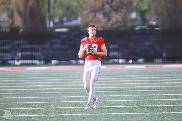 2021 Season – April 12 Ohio State practice