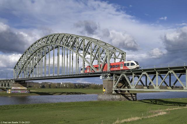 Arriva - GTW 258 @ Arnhem, 11-04-2021