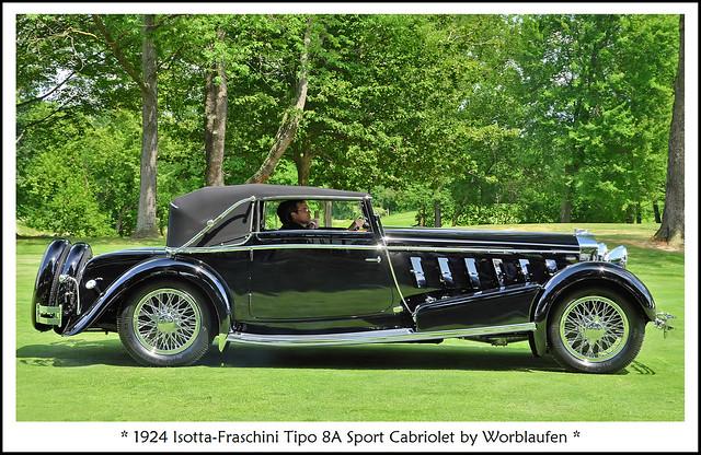 1924 Isotta-Fraschini - European Car Best of Show