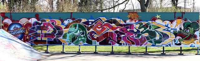 Graffiti in Haarlem