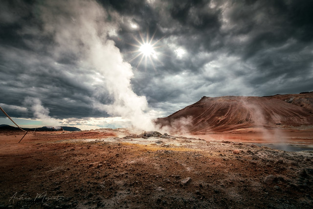 Námafjall Geothermal Area - Hverir (Iceland)