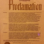 A Proclamation From The Mayor
