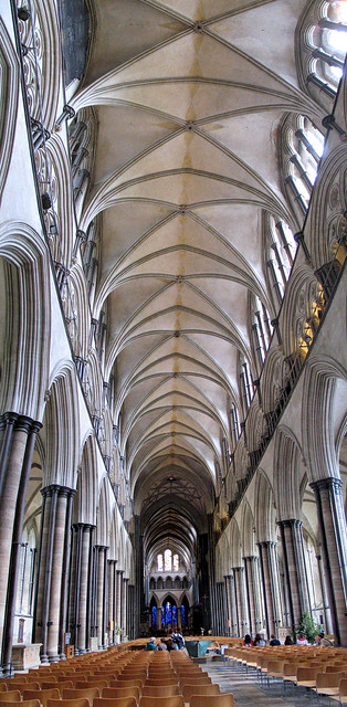 The Nave at Salisbury
