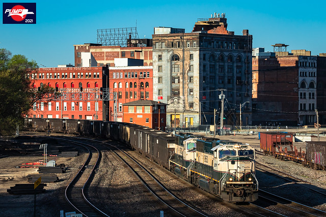 Northbound BNSF Empty Coal Train at Kansas City, MO
