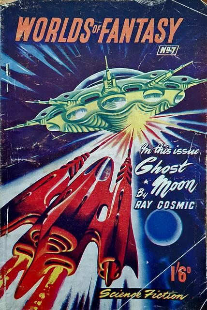 Worlds Of Fantasy - John Spencer & Co # 07 - Sept 1952