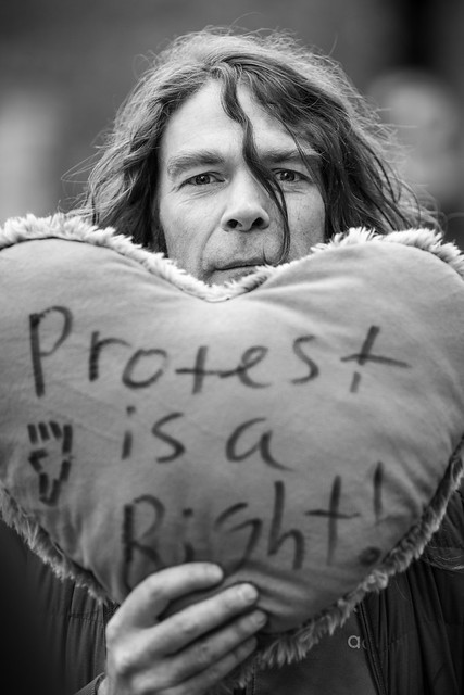 Protest is a Right