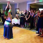 Belly-Dancer At The OLM Gala