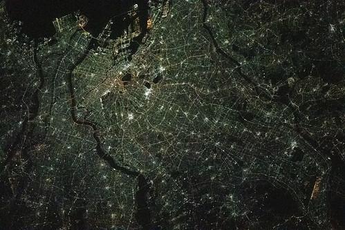 The night lights of Tokyo