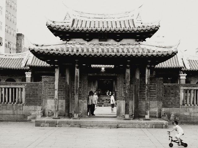 Temple Front, Taiwan