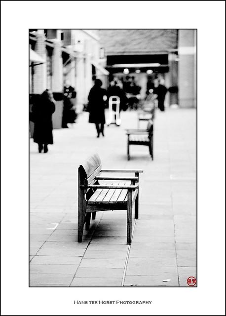 Shopping street, London