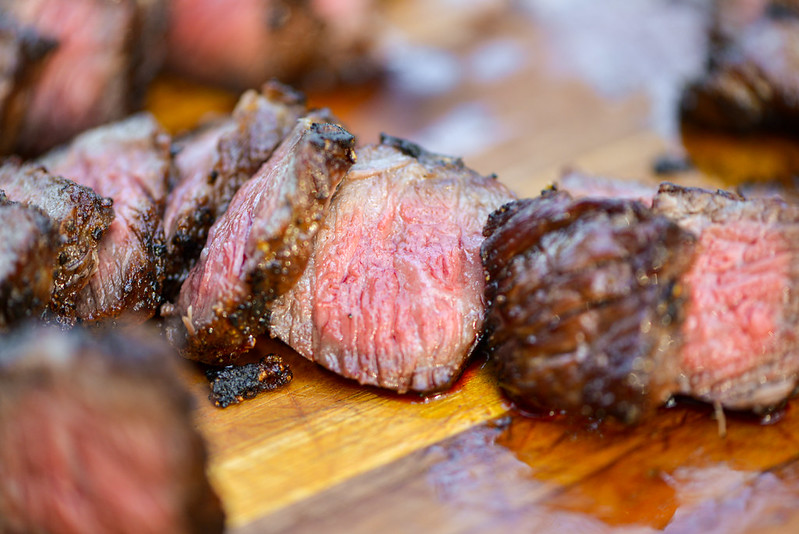 Grilled Short Ribs with Fried Garlic and Rosemary