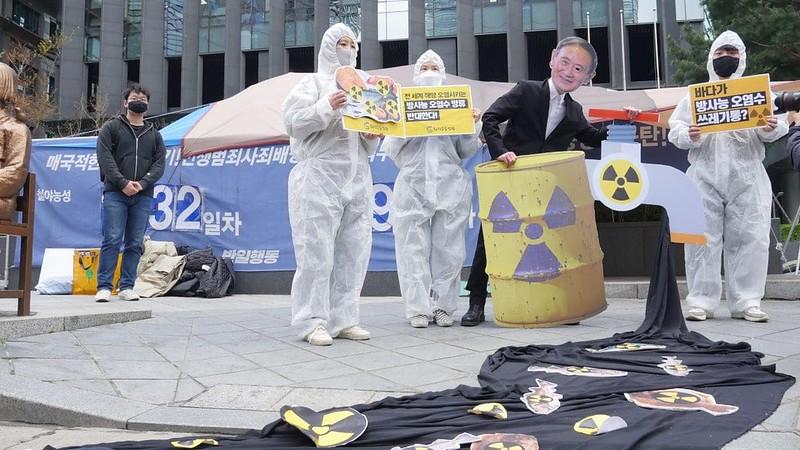 20210413_일본 후쿠시마 방사능 오염수 방류 결정 규탄 기자회견