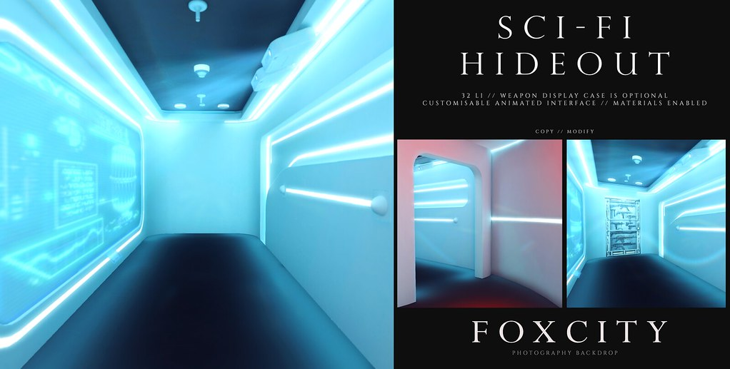FOXCITY. Photo Booth – Sci-Fi Hideout