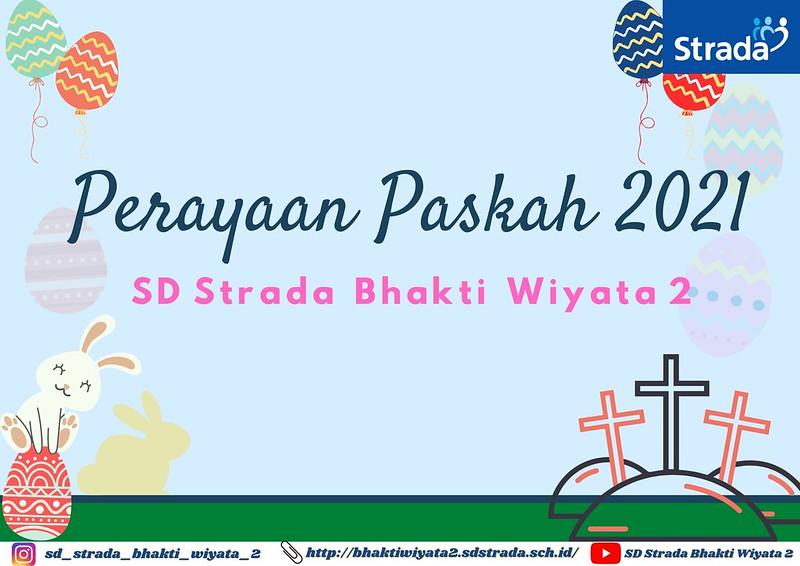 Perayaan Paskah Virtual SD Strada Bhakti Wiyata 2
