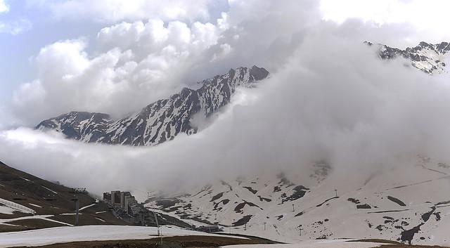 La Mongie...bientot dans les nuages