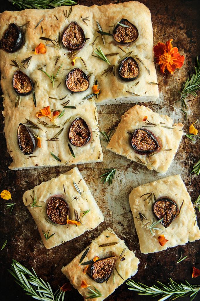 Focaccia Bread (Gluten-free and Vegan from HeatherChristo.com