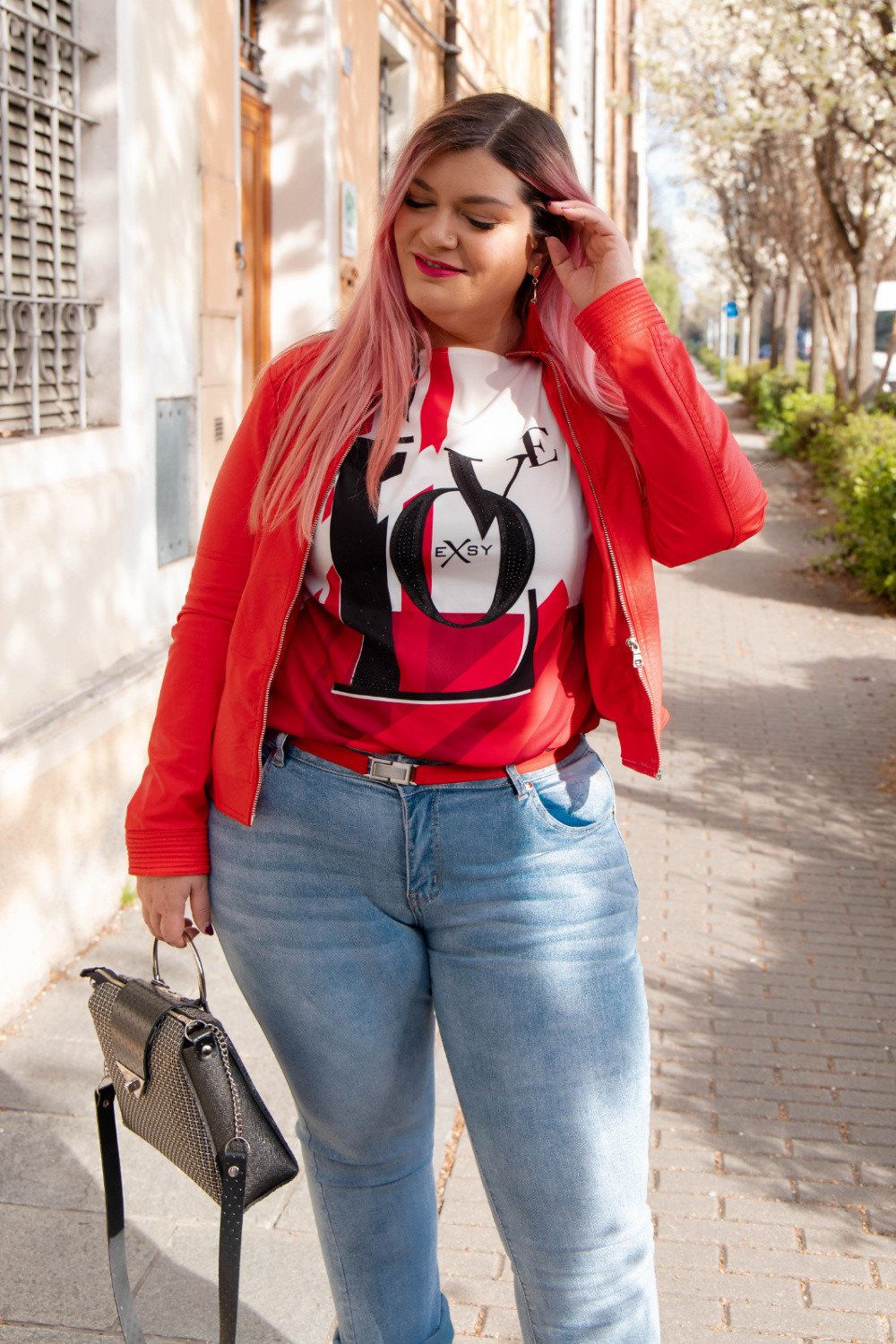 outfit casual sportivo Exsy curvy plus size (4)