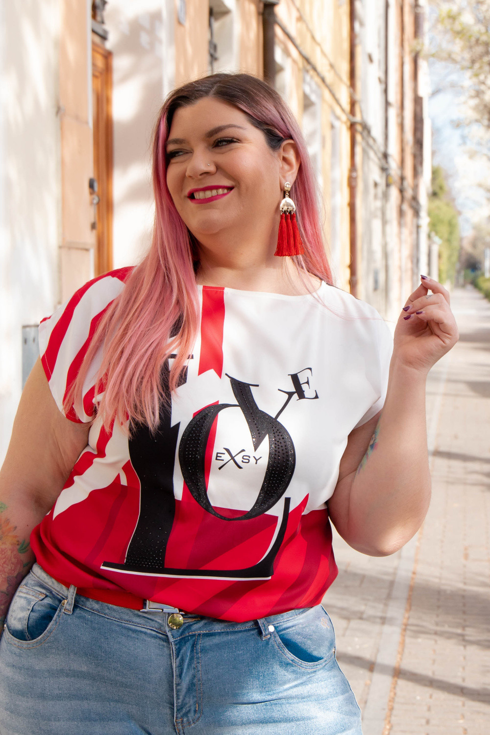 outfit casual sportivo Exsy curvy plus size (2)