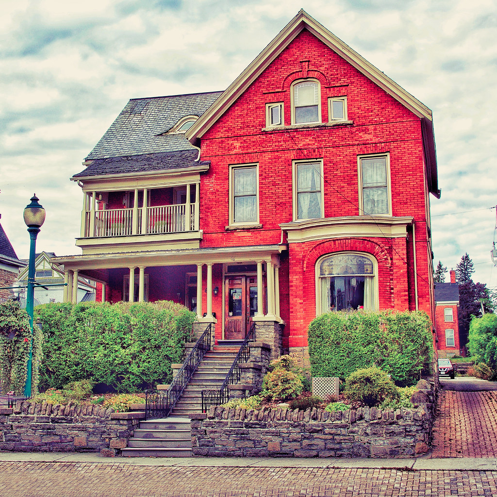 Brockville Ontario -Canada - King Street East Historic District  - Architecture  -