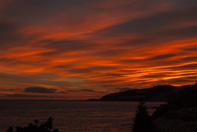 Sunset in Almuñecar