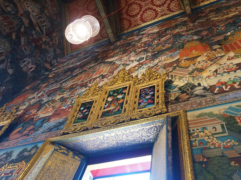 Wat Pho reclining buddha temple