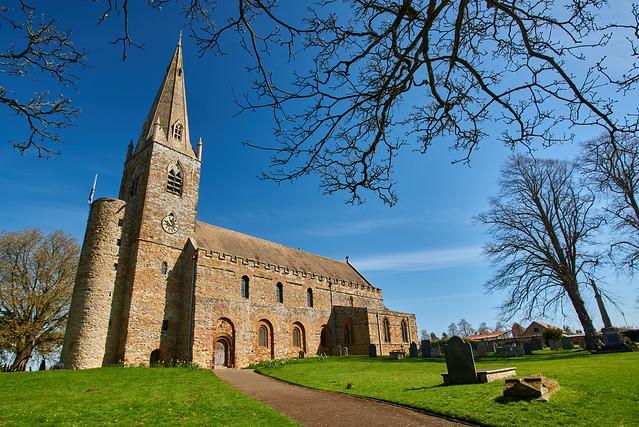 All Saints Church - Brixworth