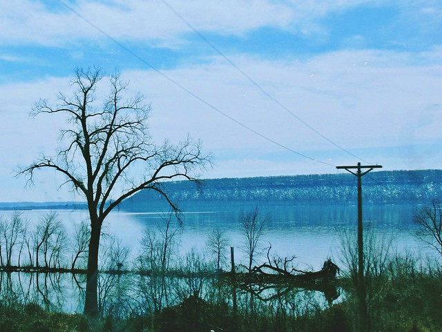 Along the Mississippi River