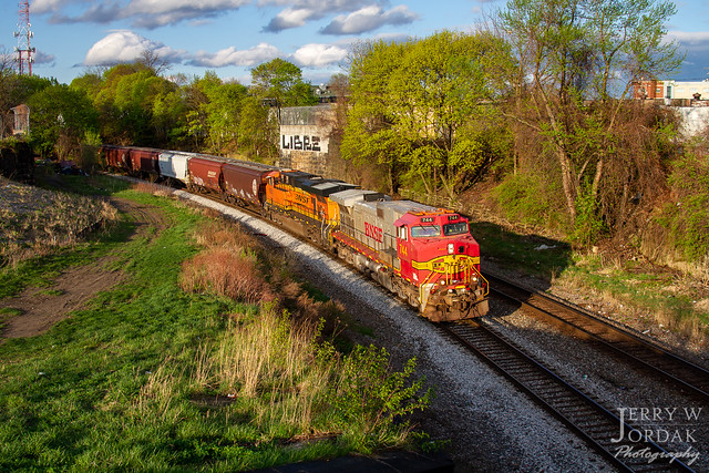 Warbonnet in Akron on the B&O