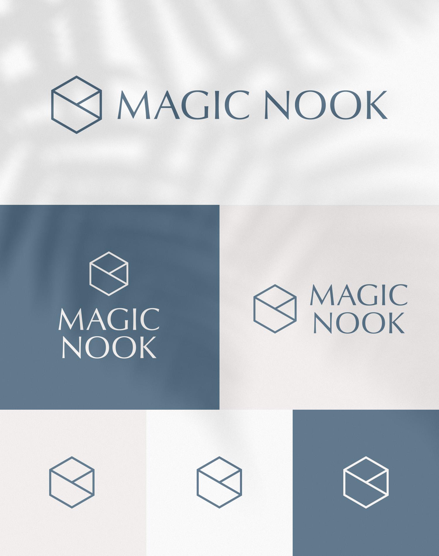 MAGIC NOOK Visual Identity 01 - New logo