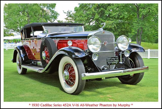 1930 Cadillac Series 452A V-16 All-Weather Phaeton