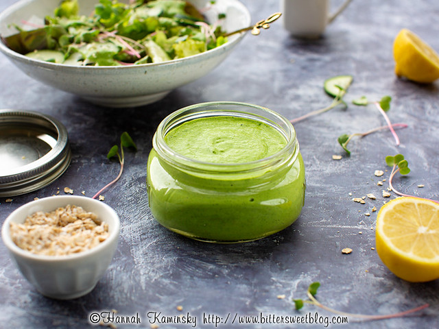 Oat Milk Green Goddess Dressing 2