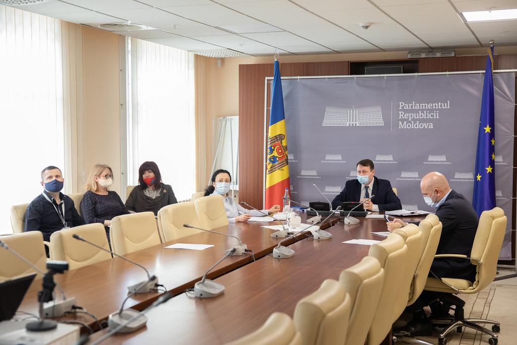 """13.04.2021 Audieri privind protejarea intereselor statului în calitate de acționar al """"Moldova Gaz"""""""