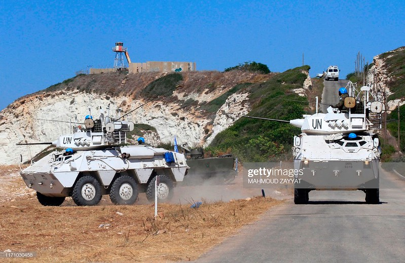 VEC-M1-unifil-exercise-near-naqura-20190925-gty-1